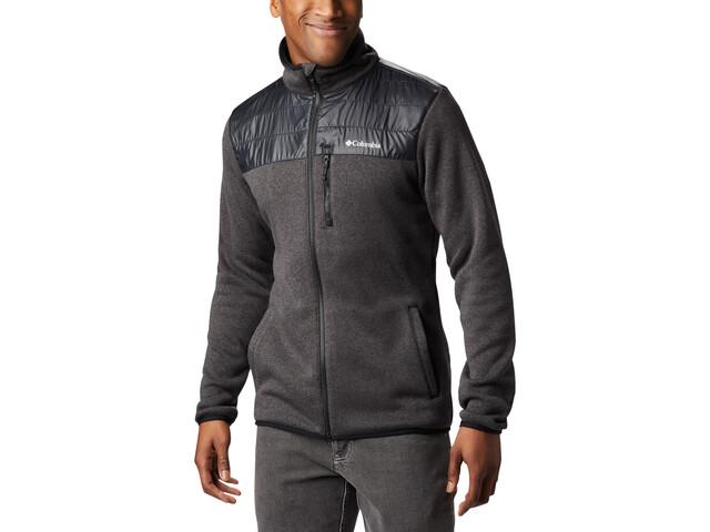 Columbia Canyon Point Veste Polaire Zip Homme, black